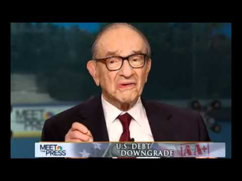 Video: Alan Greenspan says 'There is zero probability for default' on the U.S. debt