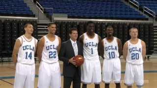 UCLA Men's Basketball Media Day 2013