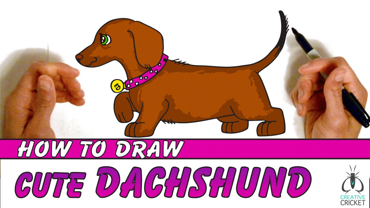 How To Draw A Dog Step By Step Easy Art Lesson For Kids