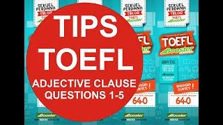 Adjective Clauses (Q1-Q5)