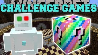 Minecraft: FROSTY THE SNOWMAN CHALLENGE GAMES - Lucky Block Mod - Modded Mini-Game