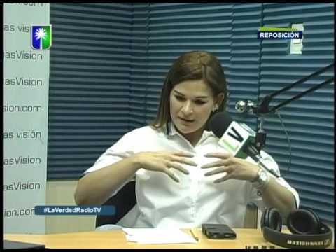 Entrevista a Mercedes Adrian en La Verdad Radio Tv