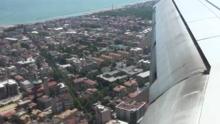 Pescara Italy  City pictures : Landing at Pescara Airport Italy