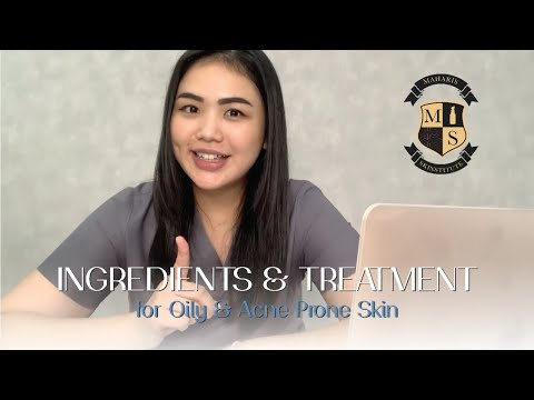 Ingredients & Treatment for Oily & Acne Prone Skin | MAHARIS SKINSTITUTE