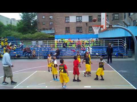 basketball - working hard to be the next basketball star.... Harlem USA.