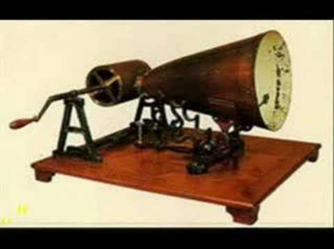 recorded - Thomas Edison wasn't the first person to record sound. A Frenchman named Edouard-Leon Scott de Martinville actually did it earlier. He invented a device call...