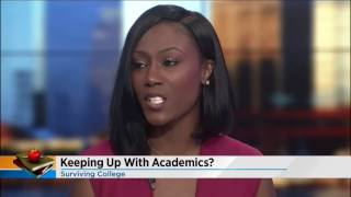 Intern Aliyah Davis Discusses Transition to College