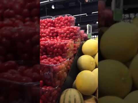 Израиль.Земля Обетованная.Цены на овощи и некоторые фрукты.