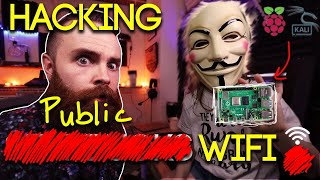 Video Hacking Starbucks WiFi with a Raspberry Pi and Kali Linux MP3, 3GP, MP4, WEBM, AVI, FLV September 2019