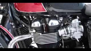 6. 2014 Triumph Bonneville T100 Red Colour Walkaround