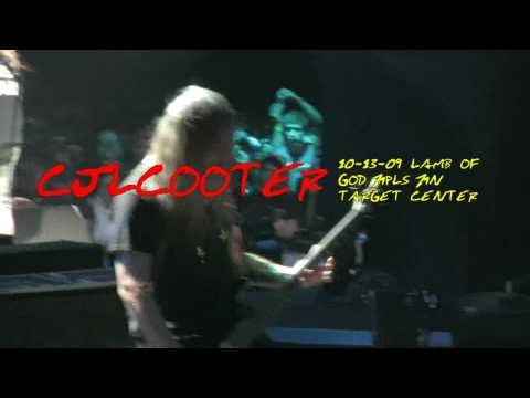 10-13-09 Target Center Mpls MN Lamb Of GOD (Unreleased) Laid To Rest Blu-Ray HD