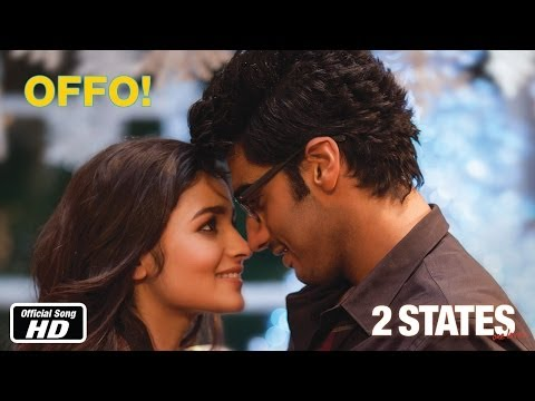 Watch Arjun Kapoor - Alia Bhatt starrer romantic number OFFO from 2 States
