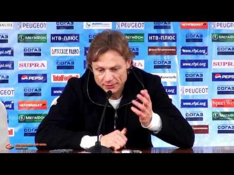 Валерий Карпин после матча с «Зенитом»