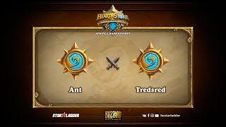 Ant vs Tredsred, game 1
