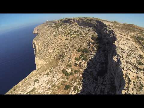 TBS discovery- Dingli Cliffs MALTA - ( watch other video if you cannot see this in your country)