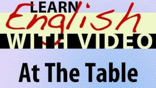 At the Table Lesson