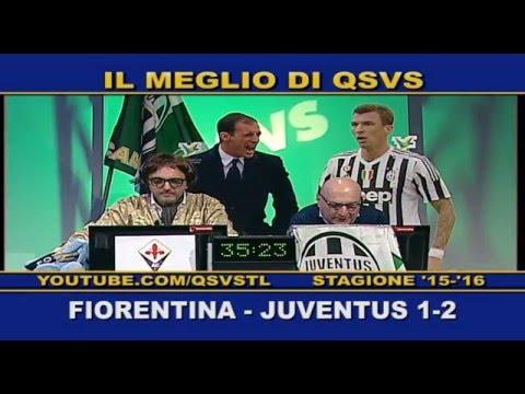 qsvs - i gol di fiorentina - juventus 1-2