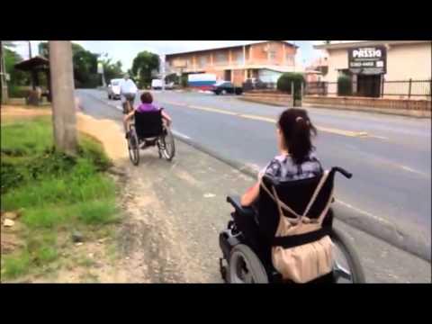 Cadeirantes em Timbó