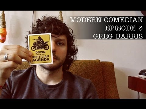 "Modern Comedian - Episode 03 - Greg Barris ""Stickers"""