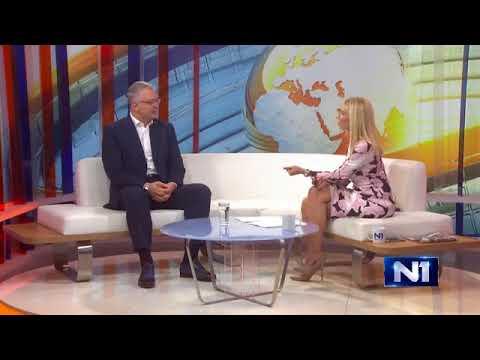 Драган Шутановац у емисији Тема јутра на Н1, 16.10.2017.