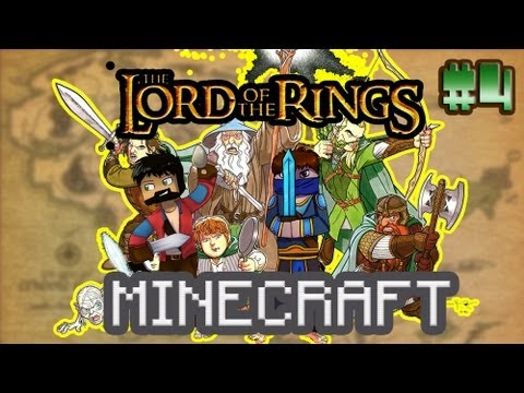 Minecraft - The Lord of the Rings #4 - СКАКУН ХАСКИ И ПОНЯШИ