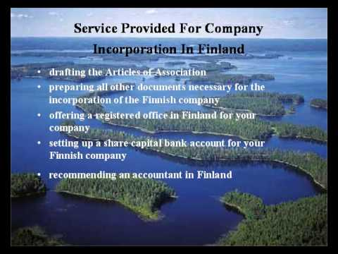 How to open a company in Finland