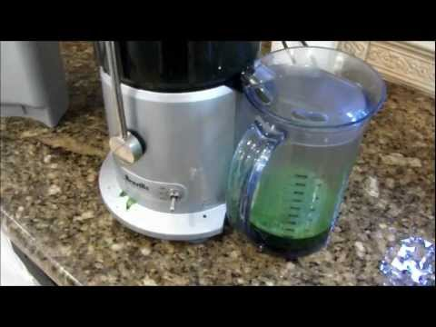 Juicing Leafy Green Vegetables with a Breville Juicer