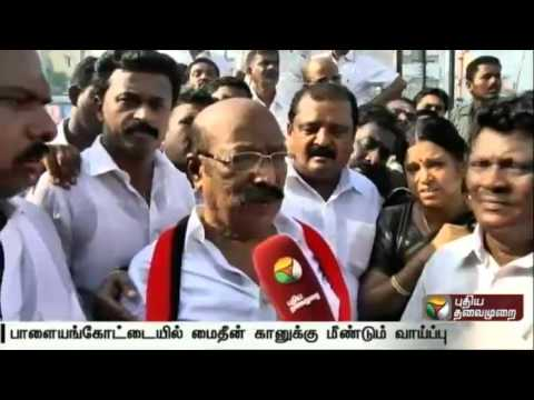 Palayamkottai-DMK-candidate-Mohideen-Khan-talks-about-protests-against-him