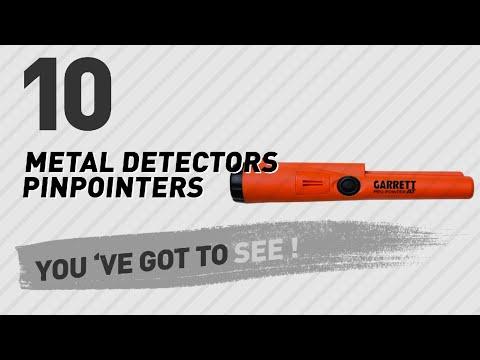 Metal Detectors Pinpointers // New & Popular 2017