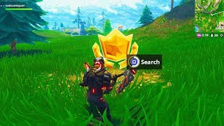 Search Between a Playground Campsite and a Footprint Location Fortnite Week 6 Challenges