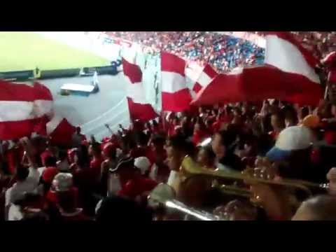 AMERICA VS leones 10 2015 orquesta escarlata - Baron Rojo Sur - América de Cáli