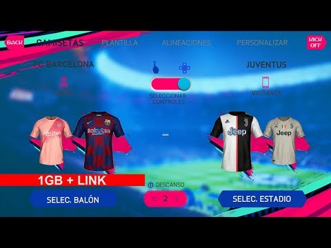 Game Android Offline FIFA 14 Mod FIFA 19 New MiniKits And Kits + Up 2019/2020 HD