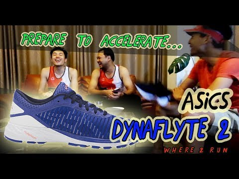 Dynaflyte 2 Asics Review By Where2RUN รีวิว