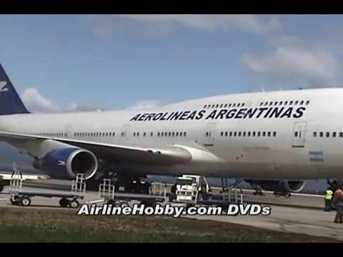 Boeing 747-200 de Aerolineas Argentinas