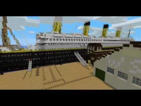 Minecraft Titanic trailer & Download