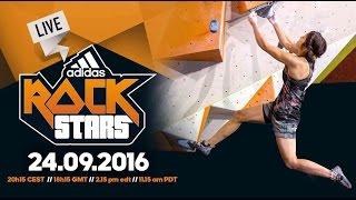 Adidas ROCKSTARS 2016 - Full replay by Bouldering TV
