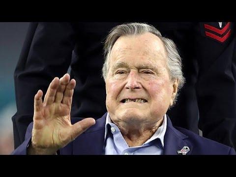 ΗΠΑ: Στο νοσοκομείο ο Τζορτζ Μπους