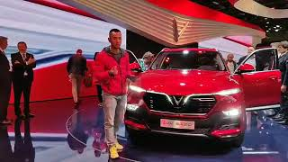 Soi chi tiết xe VINFAST tại Paris Motor Show