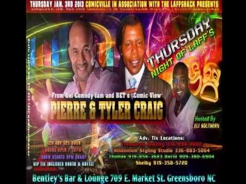 Pierre & Tyler Craig Coming To Greensboro NC 1 3 2013 CommVid