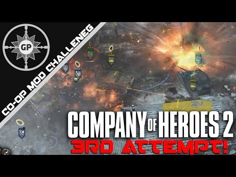 One Last Shot - Company of Heroes 2 Co-op Mission: Ardennes Resistance (3rd Attempt)