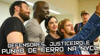 Nerd News Urgente #62, com @Mxrcelo Defenders, Punho de Ferro, Justiceiro, Demolidor, Jessica Jones e Luke Cage. A New York Comic Con foi dominada ...