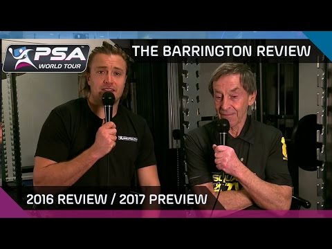 Squash: The Barrington Review - 2016 Review and 2017 Preview