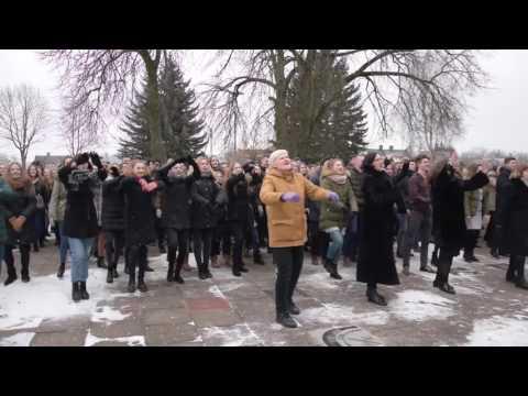 "Jonavos Senamiesčio gimnazija: ""Su gimtadieniu, Lietuva!"""