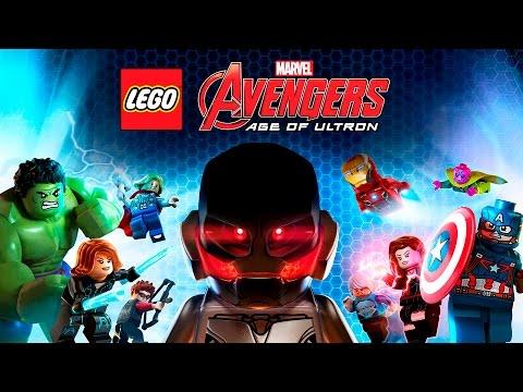 LEGO Marvel Vengadores La Era de Ultron - Pelicula Completa Español | The Avengers - Game Movie 2016