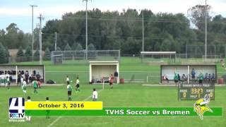 TVHS Boys Soccer vs. Bremen- Sectional