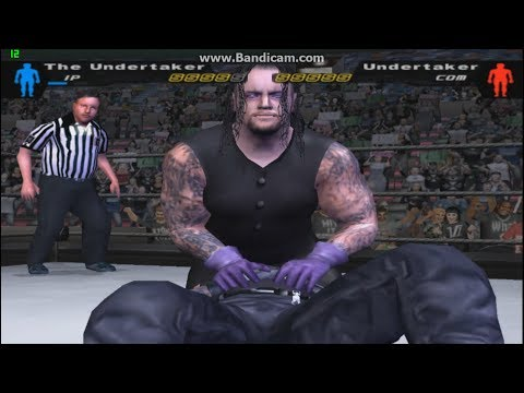 UNDERTAKER vs UNDERTAKER   first blood match SMACKDOWN pain