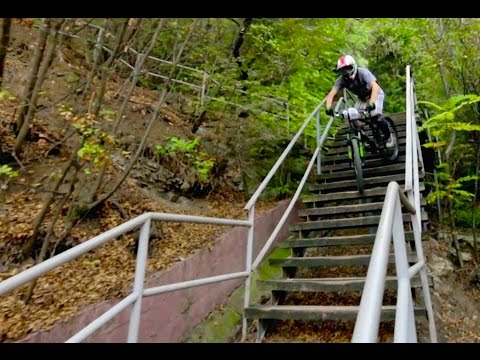 filip polc - urban downhill mtb in tbilisi (georgia)