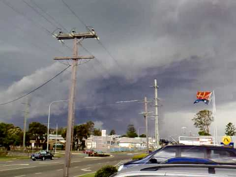 Nov 16 2008 - Damaging Supercell Storm east of Beaudesert QLD Australia
