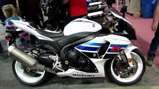 10. 2013 Suzuki GSX-R1000 - One Million Edition - Walkaround - 2013 Quebec Motorcycle Show