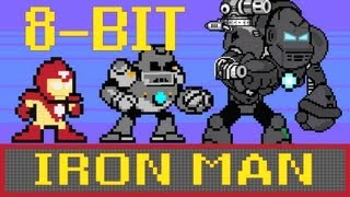 8-bit Cinema: Iron Man in 60 Seconds - YouTube